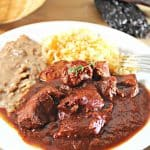 asado de puerco recipe chile colorado Mexican recipe