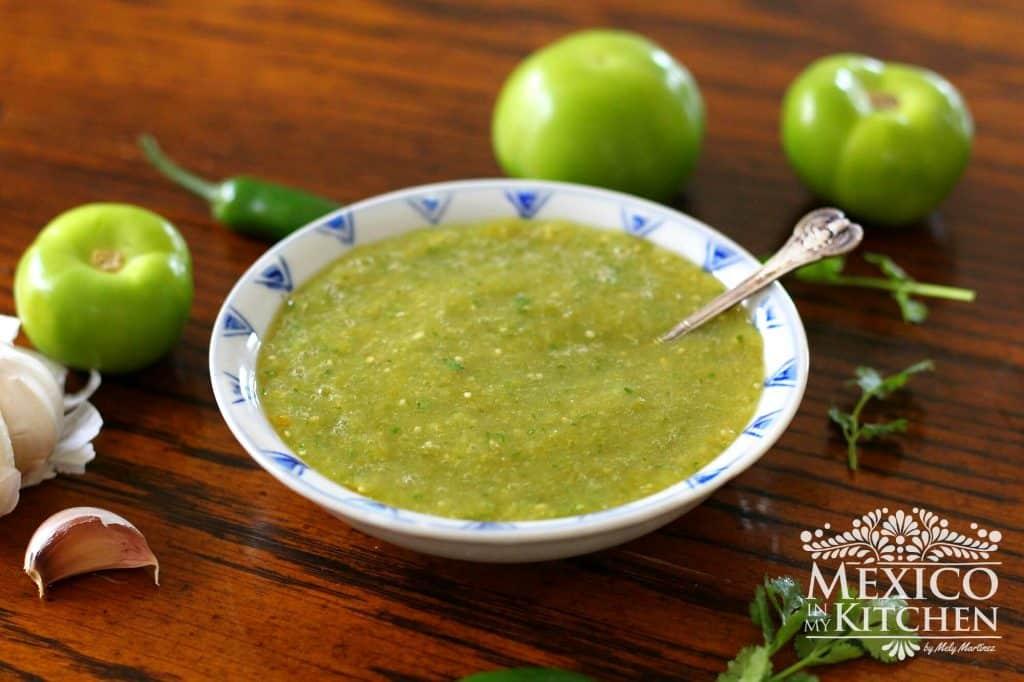 salsa verde recipe authentic
