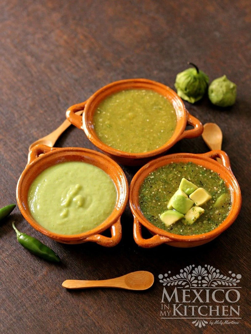 Homemade gifts -Types of salsa verde