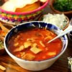 Menudo Mexican receta 5
