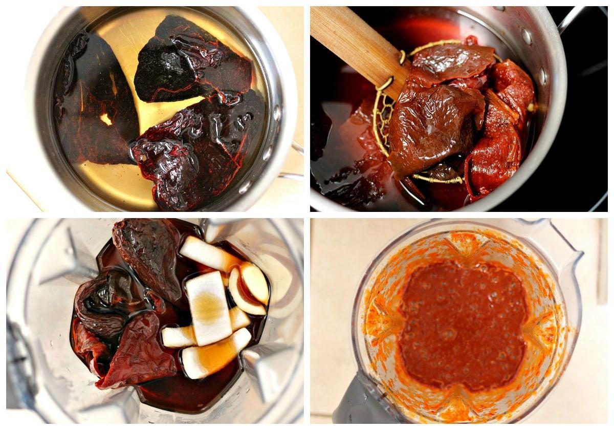 Pozole rojo salsa - sauce
