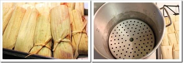 Instructions tamales de pollo