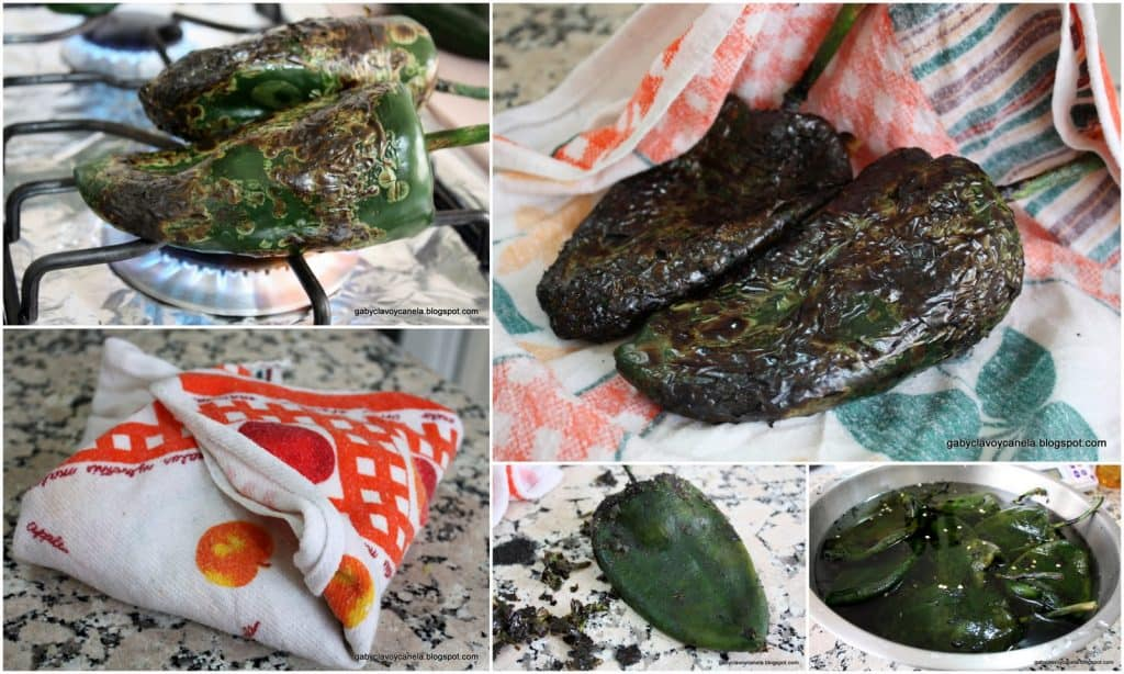 Stuffed Poblano Peppers in Walnut Sauce Recipe | Quick and Easy