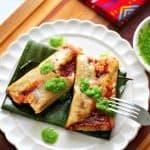 "How to Make Tamales Huastecos in Banana Leaves, Guest Post by ""Gusta Usted"" / Cómo Hacer Tamales Huastecos en Hoja de Plátano"