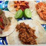 Taco Party Recipes ¡Recetas para Taquiza de la Fiesta de Noche Mexicana!