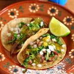 Beef Tongue Lengua Tacos recipe