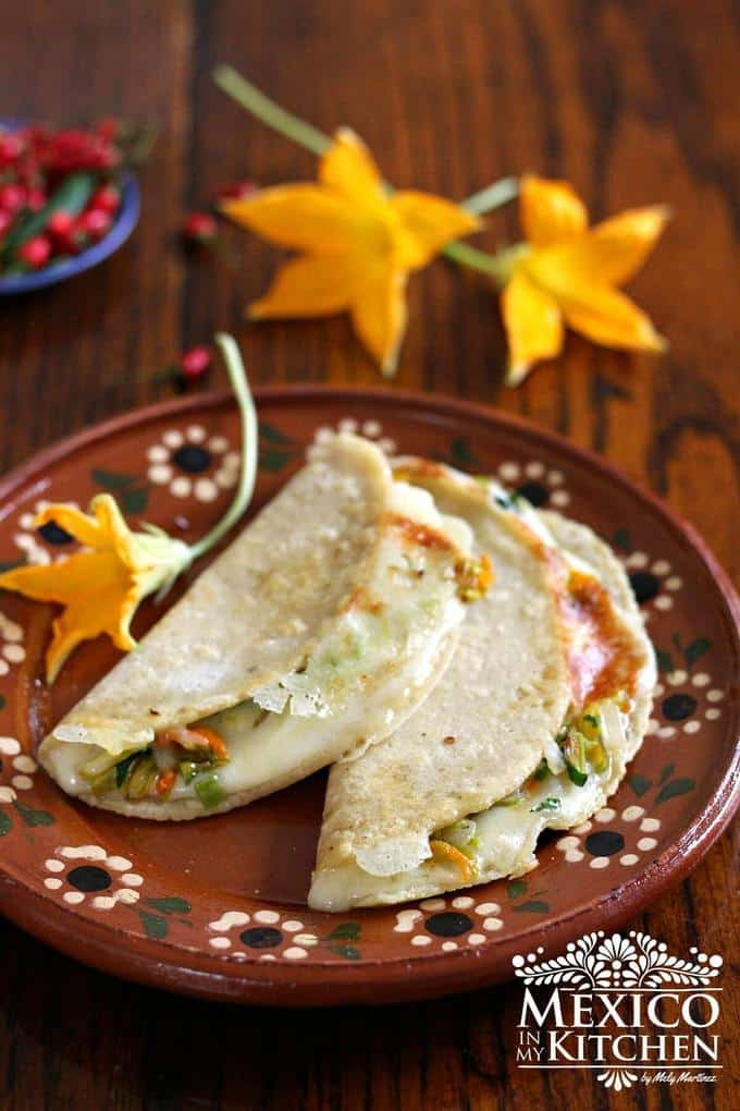 Squash Blossom quesadilla recipe |Easy Mexican Recipe