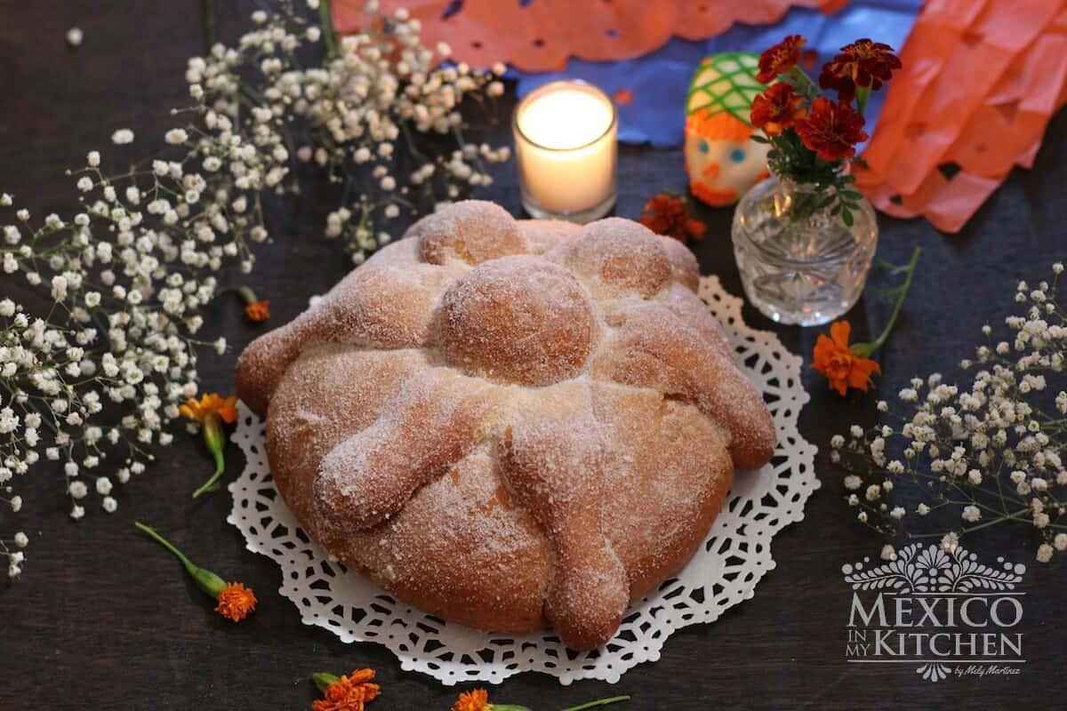 Mexican Bread Of The Dead Recipe Pan De Muerto Quick And