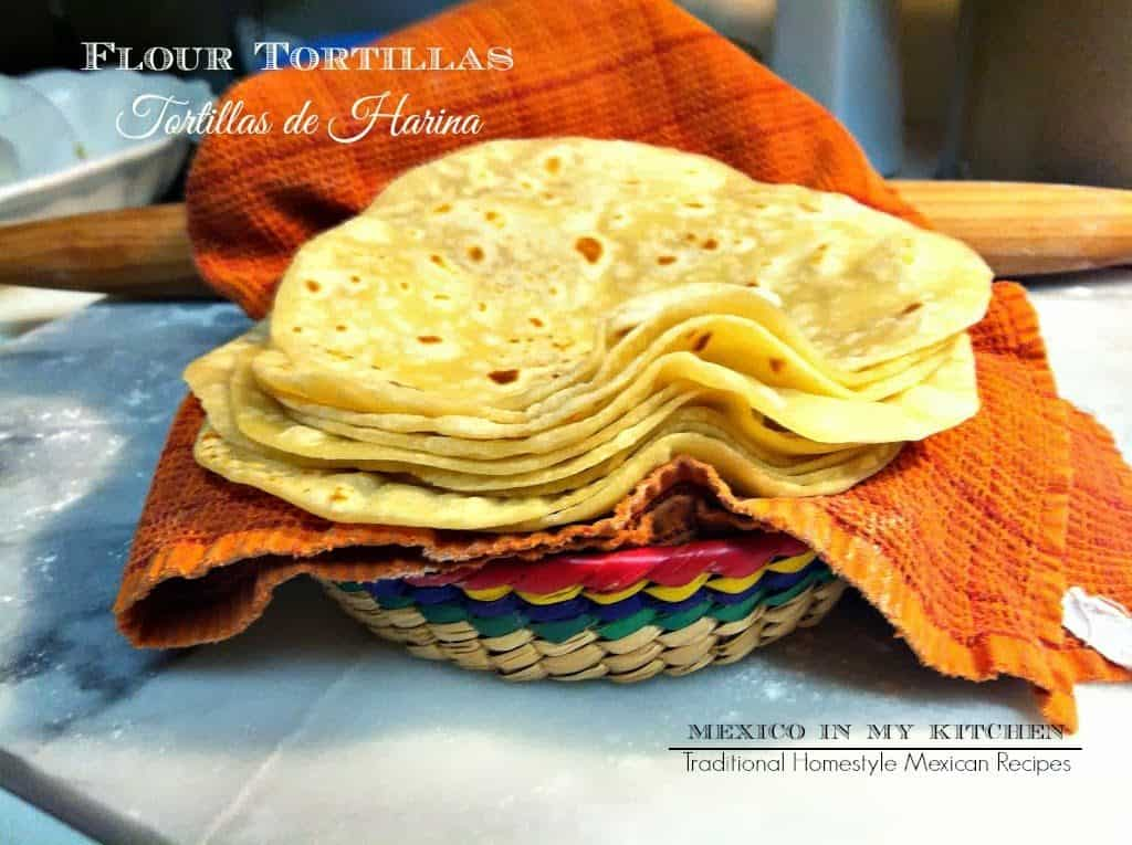 Flour Tortillas homemade | How to make Homemade Tortillas