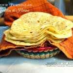 How To make flour tortillas | Homemade Flour tortillas recipe