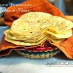 How To make flour tortillas | Homemade Flour tortillas recipe