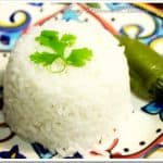 Mexican White Rice Recipe / Receta de Arroz Blanco Mexicano
