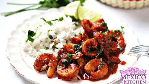 Deviled Shrimp Recipe | Camarones a la Diabla | Mexican Recipes