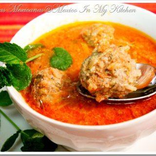 Sopa de Albondigas | Mexican Recipe
