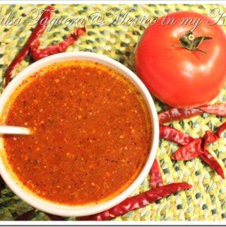 Salsa Taquera Recipe