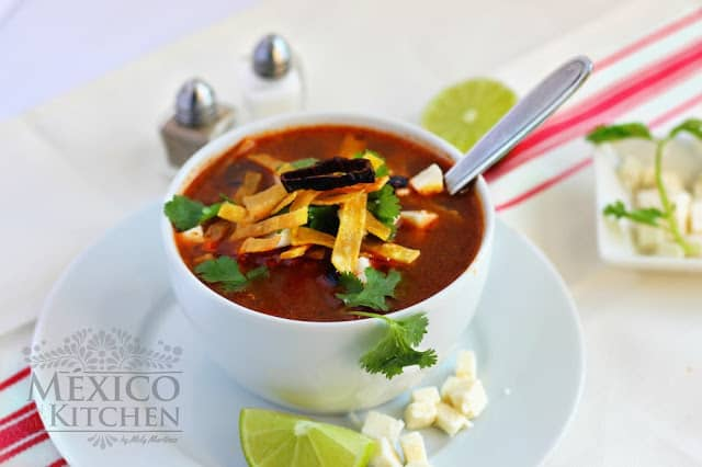 Tortilla Soup Recipe | Mexican Recipes