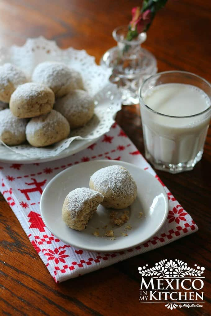 wedding cookies recipe   Traditional Mexican recipes