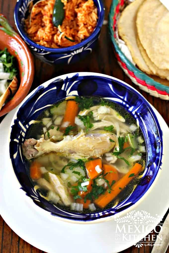 chicken soup mexican | Mexican recipes