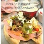 Tampico Style Sandwich / Torta de la Barda