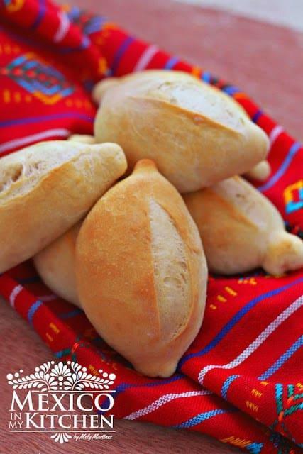 Mexican bolillo recipe pan frances