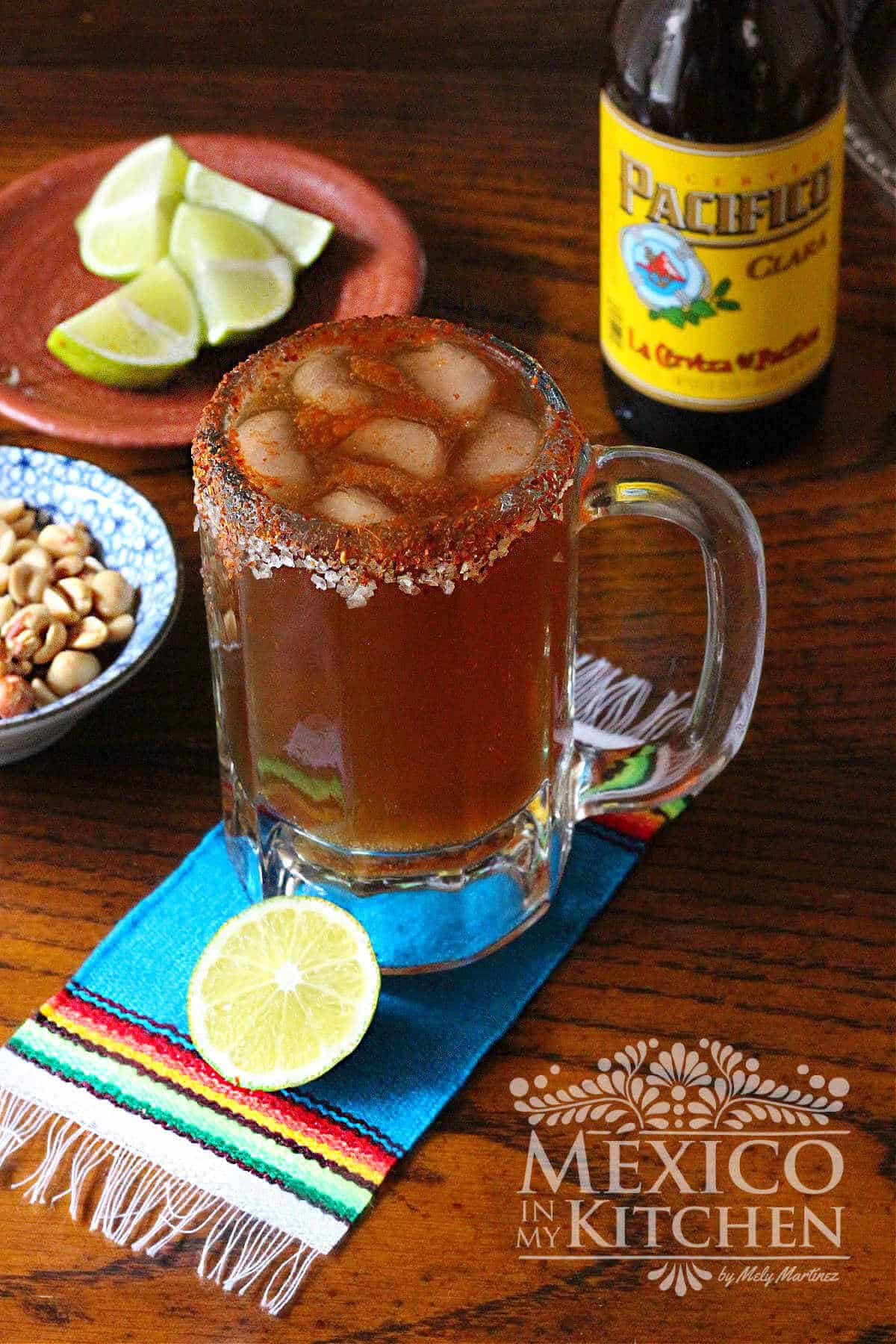 Spicy Mexican Beer michelada