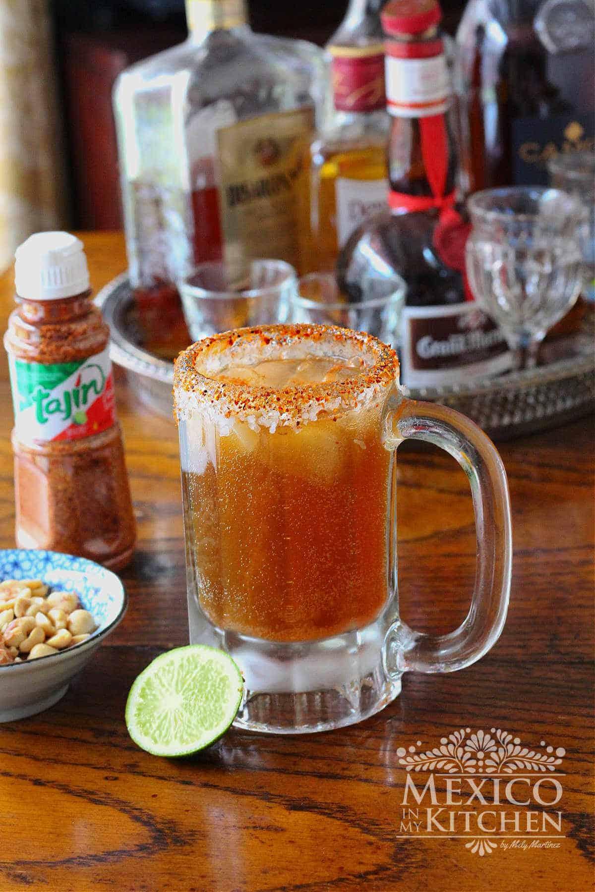 spicy beer Michelada recipe