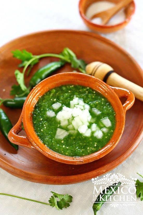 fresh tomatillo salsa recipe