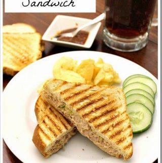 Chipotle Tuna Sandwich   Sandwich de Atún con Chipotle