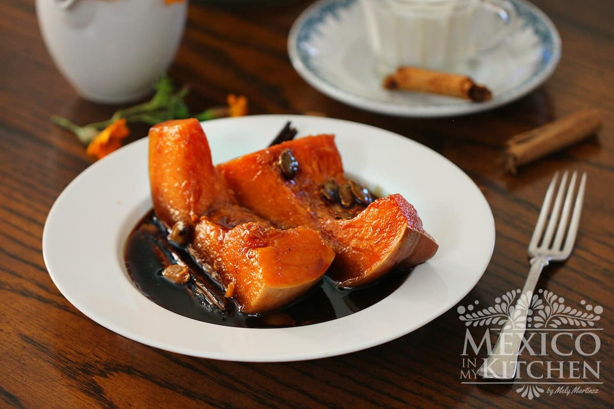 Mexican Candied Pumpkin Calabaza en Tacha recipe