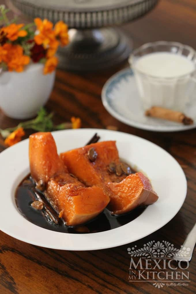 Calabaza en tacha candied pumpkin | Mexican recipes