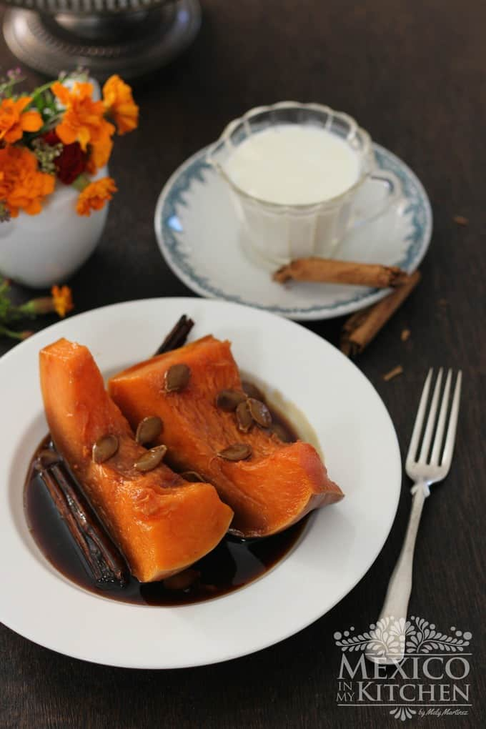 calabaza en tacha candied pumpkin | mexican recipe