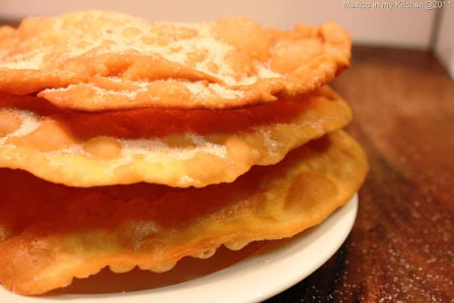 Buñuelos recipe, Mexican Christmas Dishes