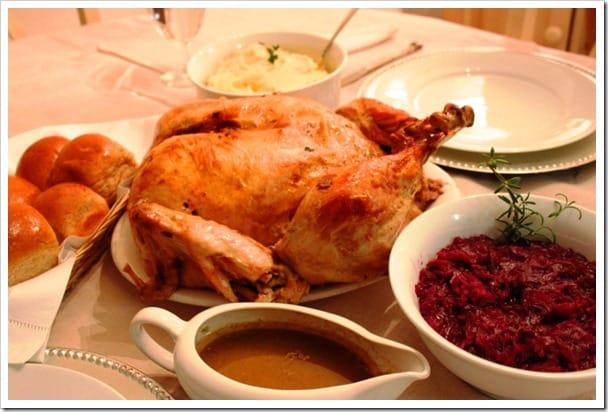 Mexican Christmas Dishes, Deboned Stuffed Turkey