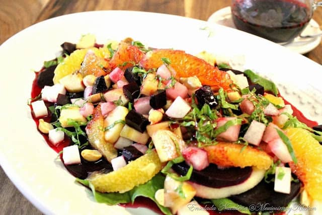 Mexican Christmas Salad, Mexican Christmas Dishes