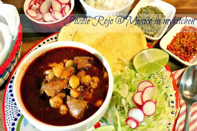 Pozole recipe, Mexican Christmas Dishes