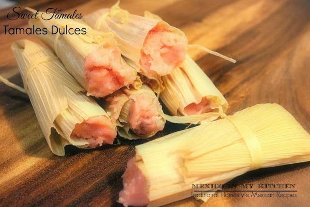 How to make sweet tamales tamales de dulce mexican recipes forumfinder Images
