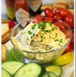 Smoked Oyster Dip   Holiday Party Recipe