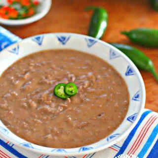 Creamy pinto beans 2