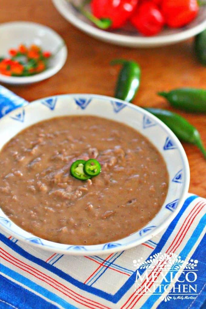 Creamy pinto beans