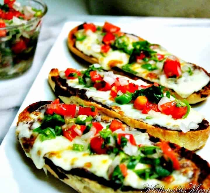 Molletes | Mexican Game Day Recipes