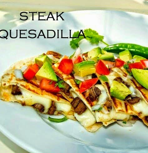 Grilled Steak Quesadilla | Mexican Game Day Recipes
