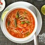 sopa de fideo recipe traditional