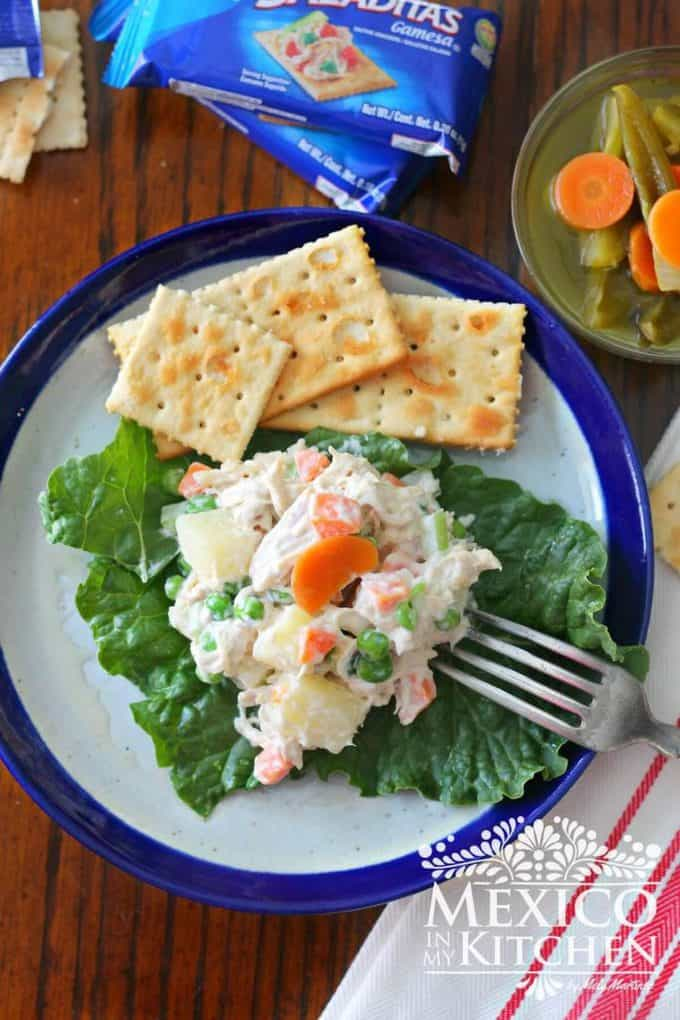 Chicken salad Mexican recipe