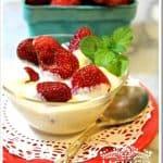 Strawberries and Cream – Fresas con Crema