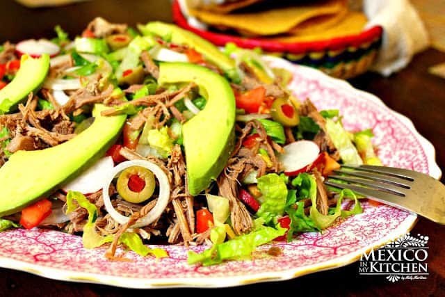 Salpicón, Shredded Beef Mexican Salad | I hope you enjoy this delicious recipe