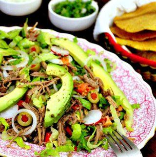 Salpicón, Shredded Beef Mexican Salad