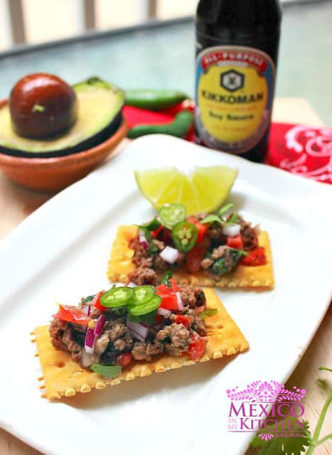 Mexican Steak Tartare | Ingredients