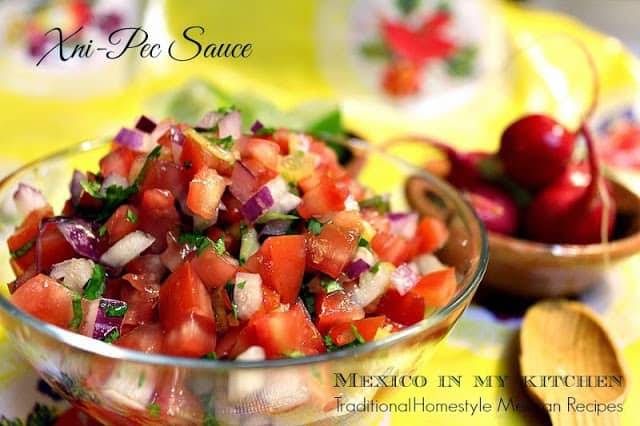 Xnipec Salsa | Mexican Recipes