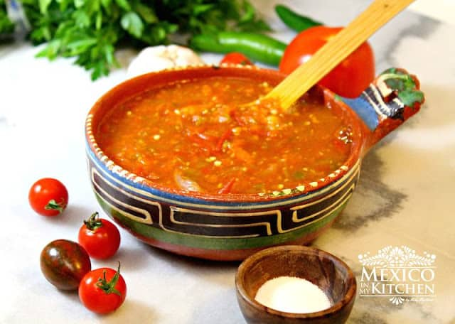 Cherry Tomato Salsa Spicy | Authentic Mexican Food
