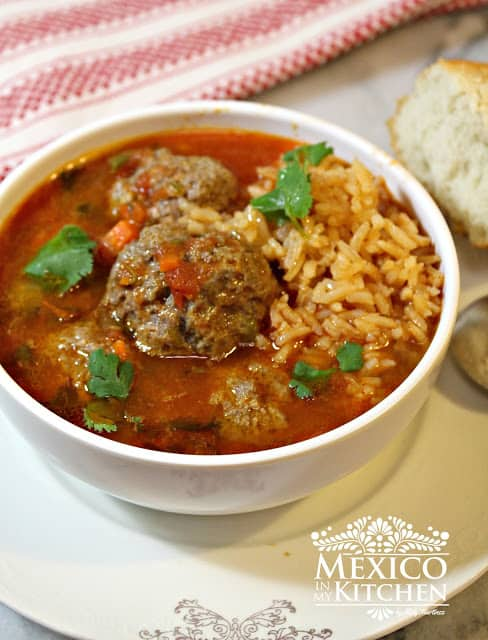 Mexican Meatball Soup Recipe | Mexican Recipes |